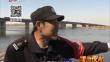 六旬女子江上漂 保安游客齐救回