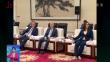 張慶偉會見俄韃靼斯坦共和國行政長官明尼哈諾夫
