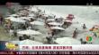 巴西:巨浪突袭海滩 游客四散而逃