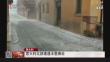 意大利北部遭遇冰雹袭击