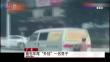 """广东 面包车""""外挂""""一名男子"""