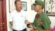绥化市长张子林走访慰问预备役官兵和抗美老战士