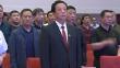 佳木斯市市政府举行新任职副处级以上干部宪法宣誓仪式