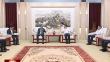 七台河市委书记杨廷双市长贾君会见韩国客商