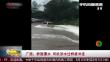 广西:桥面漫水 司机涉水过桥被冲走