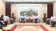 七台河市长贾君会见中国生物发酵产业协会客人