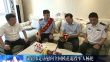 双鸭山市委书记宋宏伟走访慰问全国模范退役军人杨伦