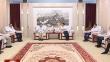 七台河:杨廷双贾君会见中国科学院院士刘云圻等专家