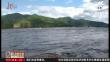 河水突然爆涨 直升飞机被困