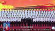 盛世华诞普天庆 龙江尽飘中国红