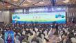 第七届黑龙江绿色食品产业博览会和第二届中国 黑龙江国际大米节开幕式举行