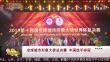 全球城市形象大使总决赛 中国选手夺冠