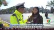 """温州: 交警向斑马线""""低头族""""开出罚单"""