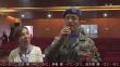 中国赴黎维和部队慰问当地残疾人学校师生