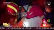辽宁营口:四岁女童被困洗衣机 消防破拆施救