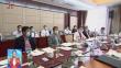 黑龙江代表团小组会议审议全国人大常委会工作报告