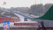京哈高速公路改扩建工程实现右幅双向通车