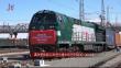 满洲里铁路口岸进出境中欧班列突破10000列