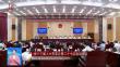 省十三届人大常委会第二十七次会议闭会 张庆伟出席会议