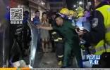 安达:两车相撞司机被困  多方联动紧急救援