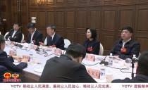 """伊春市代表团审议省人大常委会和省""""两院""""工作报告"""
