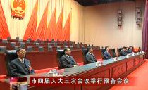 绥化市四届人大三次会议举行预备会议