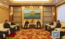 鸡西市长于洪涛会见外埠商会企业家