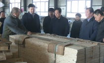 佳木斯市长邵国强到同江市就中俄同江铁路大桥保通车及通车后大桥经济区建设发展等工作进行调研