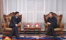 七台河市长贾君会见省联通公司来宾