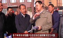 绥化市长张子林到市本级棚户区改造项目调研解决民生问题