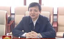 七台河市委书记杨廷双与七矿公司新一届领导班子成员会谈