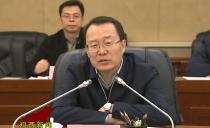 鸡西市长于洪涛会见中交集团东北区域总部副总经理王朝江一行
