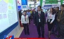 佳木斯市長邵國強到第六屆中俄博覽會和第三十屆哈洽會佳木斯展區巡館