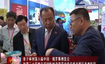 绥化市长张子林到第六届中国-俄罗斯博览会和第三十届哈尔滨国际经济贸易洽谈会我市展区参观指导