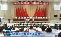 齊齊哈爾市委十三屆五次全會召開