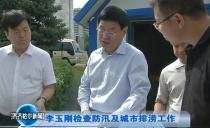齊齊哈爾市長李玉剛檢查防汛及城市排澇工作