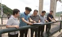 雙鴨山市長鄭大光深入一線檢查汛期防汛工作