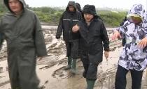 雙鴨山市長鄭大光先后到扁石河四方臺區段和寶山區段檢查指導防汛防災工作