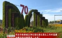 大慶市委副書記、市長何忠華檢查城區凈化綠化美化亮化工作
