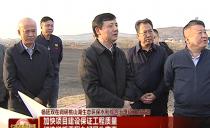 七台河市委书记杨廷双:加快项目建设保证工程质量 打造样板工程办好民生实事