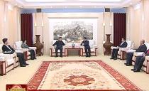 七台河市委书记杨廷双会见省药监局领导
