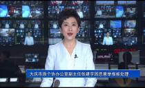 大慶市原個協辦公室副主任張建宇因惡意舉報被處理