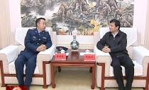 七台河市委书记杨廷双会见中国人民解放军空军军医大学(第四军医大学)代表