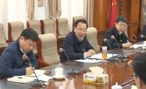 佳木斯市委書記徐建國參加市委辦機關黨委第一支部專題會議