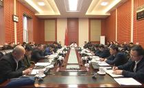 鸡西市政府召开扫黑除恶行业治理专题会议