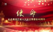 使命——纪念黑龙江省人大设立常委会40周年