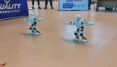 机器人双人舞蹈