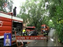 """哈尔滨通报""""825""""松北区重大火灾事故情况"""