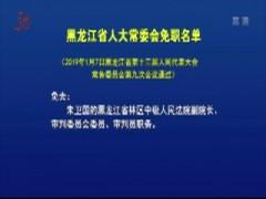 黑龙江省人大常委会免职名单