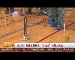 """哈尔滨 拼速度看精准 """"终结者""""机器人开战"""